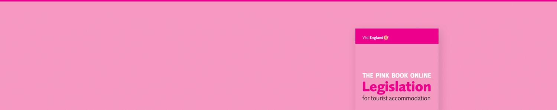 Pink book banner