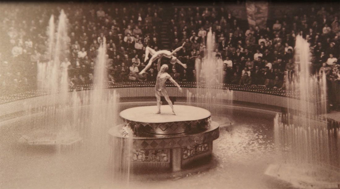Blackpool Circus Water Feature