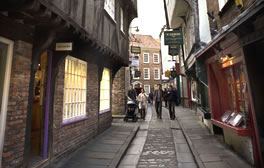 Explore the picturesque street The Shambles