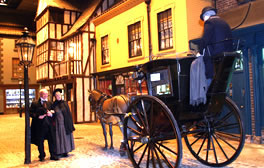 Travel back in time at the York Castle Museum