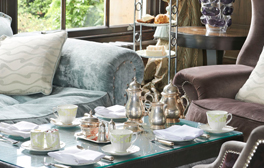 Taste the decadent afternoon tea at Oulton Hall