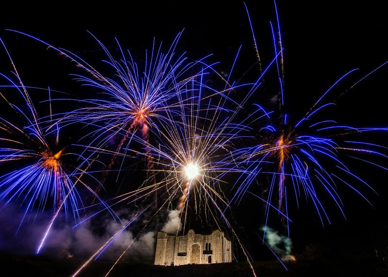 Castle Rising Fireworks