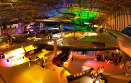 Altos vuelos en el Museo Imperial de la Guerra de Duxford