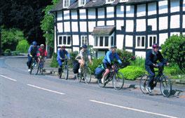 La route du cidre dans le Herefordshire