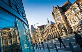 Espaces de réflexion à l'université de Manchester