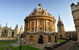 Dreaming spires of Oxford University
