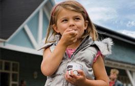 Ice-cream galore at Cheshire Farm