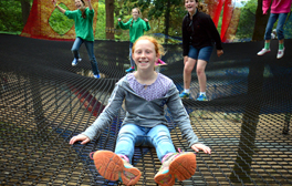 Tire the kids out on a Treetop Nets adventure