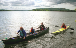 Get your paddle at the ready and canoe the Derwentwater