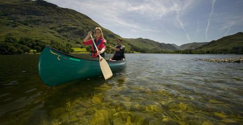 Boating in Cumbria