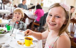 Enjoy summer-themed tea time treats at the Pump Room