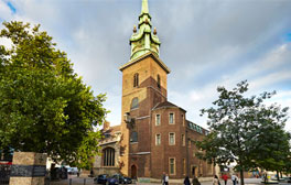 Step into the City's oldest church, All-Hallows-by-the-Tower