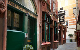 Wander the medieval passageways & get lost in the City