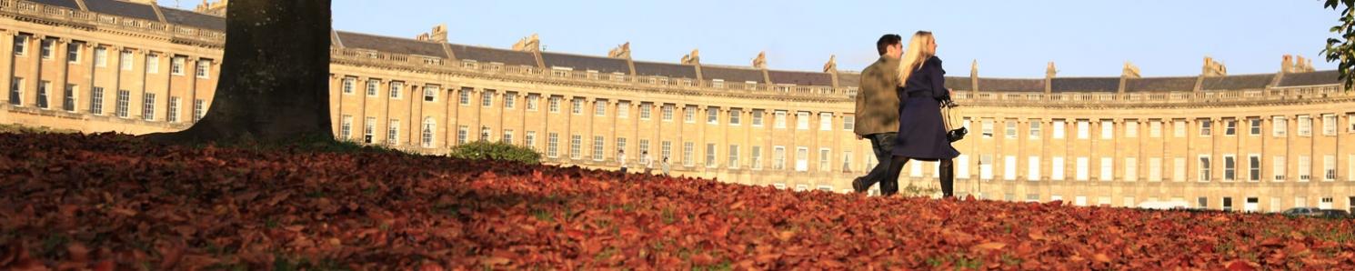 Autumn in Bath