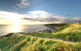 Watch the sunrise over the Durham Heritage Coast