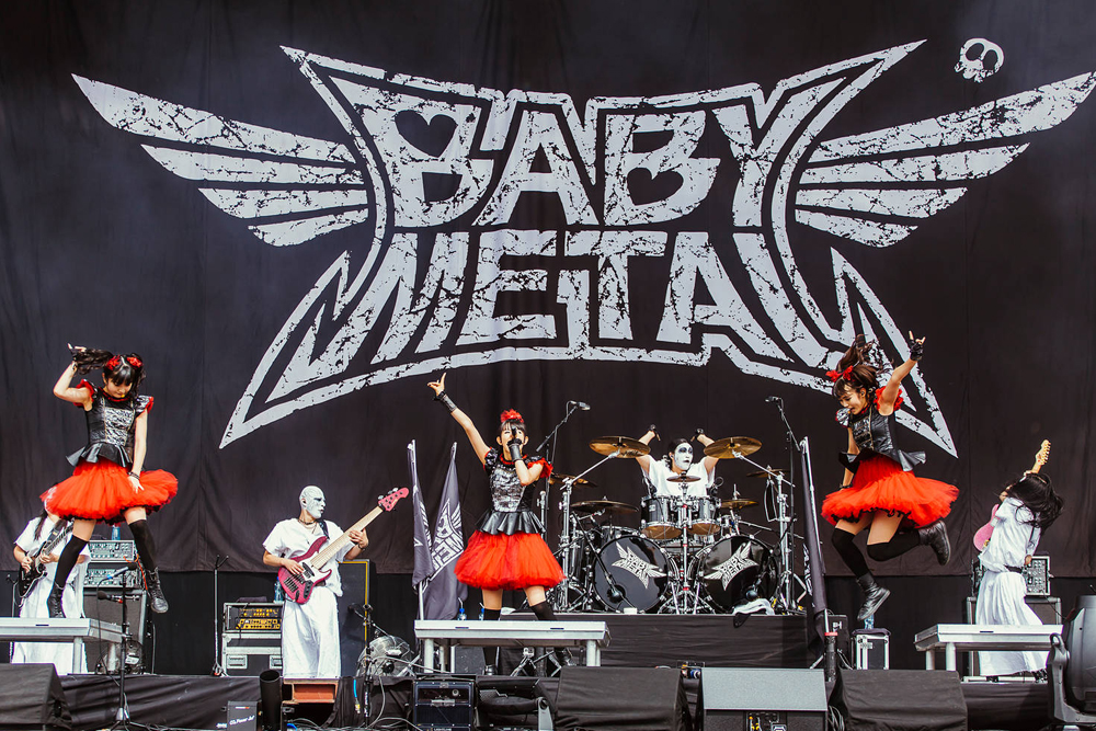 Babymetal at Reading Festival