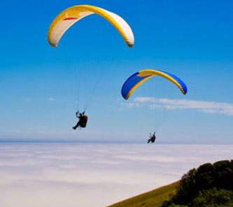 Sky diving in Eastbourne