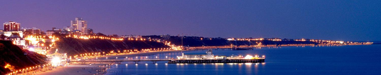 Bournemouth at night