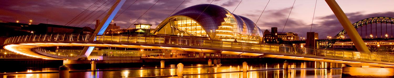 Newcastle at dusk