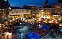 Visit Birmingham's famous Christmas market