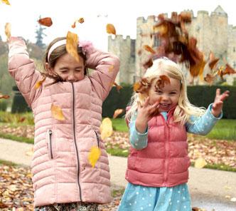 Autumn walks at Hever Castle