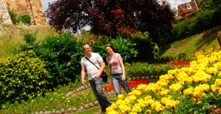 Find gardens and parks in England, UK