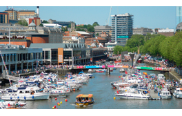 Experience the Bristol Harbour Festival on the water or dry land