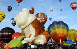 Des montgolfières à Bristol