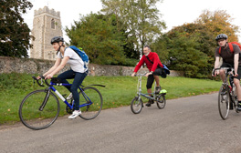 Discover Suffolk's Towers and Spires on a free cycling tour