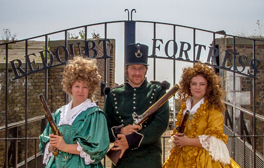 Dress up as a real soldier at Eastbourne's Napoleonic fortress