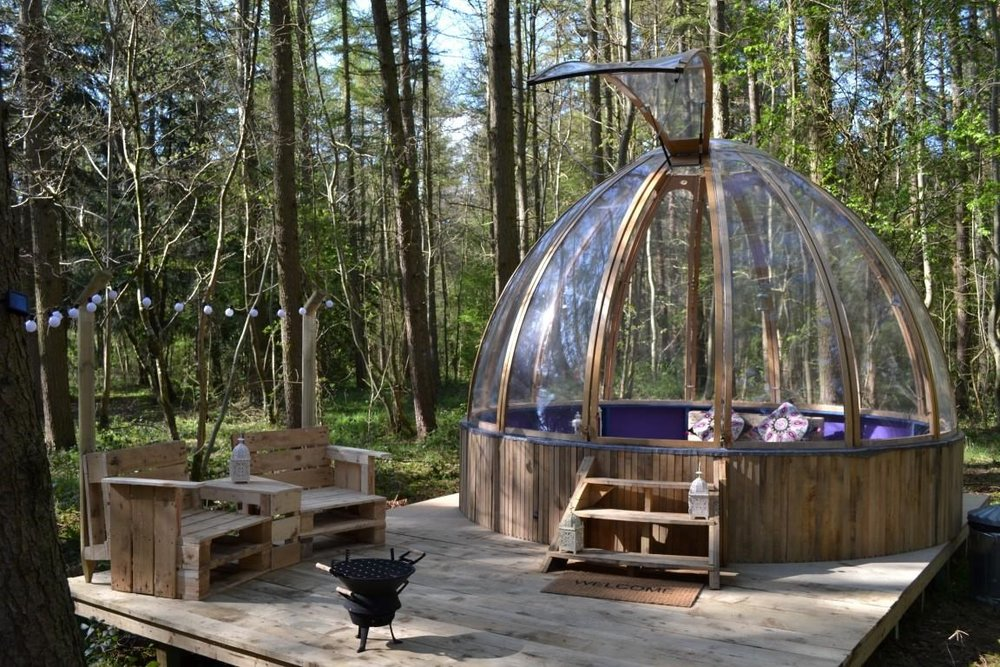 Camp Katur Dome in the Forest