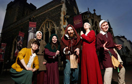 Experience medieval England at The Canterbury Tales