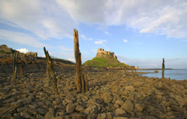 Cross the causeway to the unique Holy Island of Lindisfarne