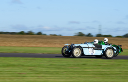 Racing at Castle Combe