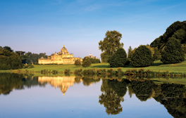 Castle Howard - Yorkshire (c)Mike Kipling, Welcome to Yorkshire, south lake 264X168