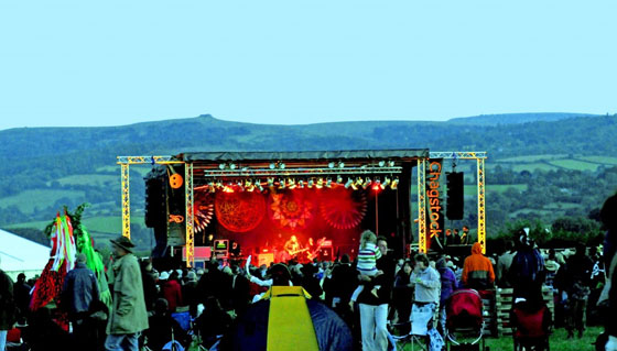 Chagstock Festival, just one of many family-friendly festivals in England
