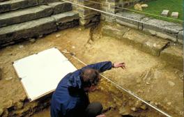 Die römische Villa in Chedworth