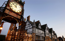 Rekindle your love with a romantic weekend break in Chester