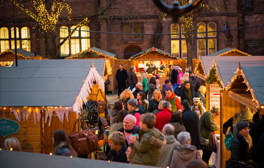 Get in the festive spirit and spend Christmas in Chester