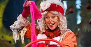 Mrs Christmas at Kielder Winter Wonderland