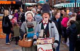 Soak up the fun at Gloucester Quays' Victorian Christmas Market