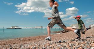 Find coastal holidays in England,