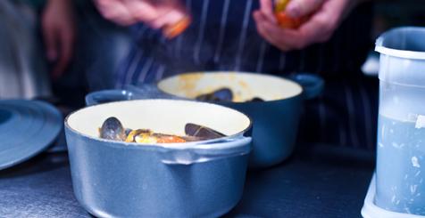Seafood pots