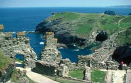 Explore Tintagel Castle