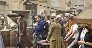 Filming of Poldark