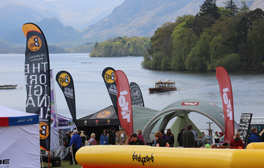 Visit the UK's largest outdoor festival in Keswick