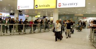 Aduanas, visados e inmigración