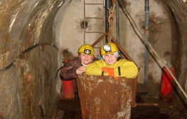 Take a guided tour through a Cumbrian mine