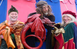 Tame your own dragon at the Forest of Dean's Dragon Festival