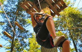 Get to grips with nature & play in the trees at Tree Runners